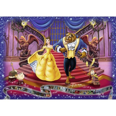 Puzzle Ravensburger-19746 Disney - Beauty and the Beast
