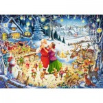 Puzzle  Ravensburger-19765 The Feast of Feasts
