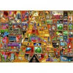 Puzzle  Ravensburger-19771 Colin Thompson - Awesome Alphabet - A