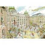 Puzzle  Ravensburger-19788 Fleroux - Vienna