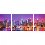 Puzzle  Ravensburger-19792 Triptych New York