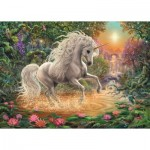Puzzle  Ravensburger-19793 Mystical Unicorn