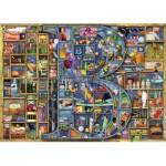 Puzzle  Ravensburger-19828 Colin Thompson - Awesome Alphabet - B