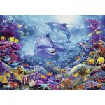 Puzzle  Ravensburger-19833 Magnificent Underwater World
