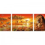 Puzzle  Ravensburger-19836 African Impressions