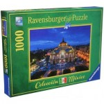 Puzzle  Ravensburger-19842 Palace of Fine Arts, Mexico