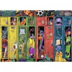 Puzzle  Ravensburger-19862 The Locker Room