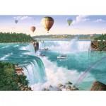 Puzzle  Ravensburger-19871 Niagara Falls