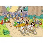 Puzzle  Ravensburger-19873 Asterix in Italy