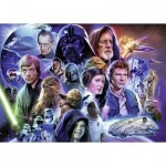 Puzzle  Ravensburger-19887 Star Wars: Limited Edition 6