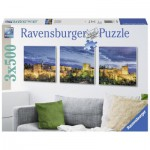 Puzzle  Ravensburger-19918 Alhambra at Sunset