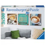 Puzzle  Ravensburger-19919 Coffee