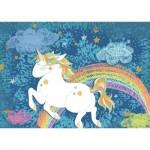 Puzzle  Ravensburger-19932 Do it Yourself - Happy Unicorn
