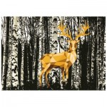Puzzle  Ravensburger-19936 Do it Yourself - Deer in the Forest