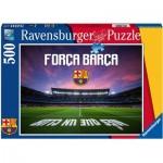 Puzzle  Ravensburger-19942 Força Barça