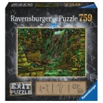 Ravensburger-19951 Exit Puzzle - Tempel in Angkor Wat (in German)