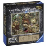 Ravensburger-19952 Exit Puzzle - Hexenküche (in German)