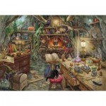 Ravensburger-19958 Escape Puzzle - Witch's Kitchen (in French)