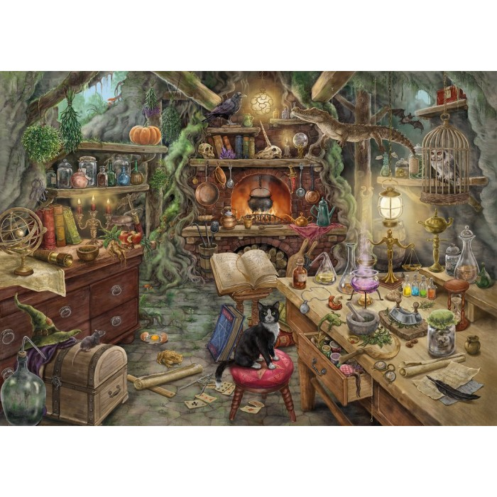 Escape Puzzle - Witch's Kitchen (in French)