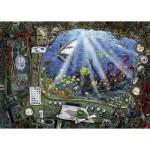 Ravensburger-19959 Escape Puzzle - Sous l'Ean (in French)