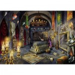 Ravensburger-19961 Escape Puzzle - La Chambre du Vampire (in French)