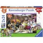 2 Puzzles - 44 Cats