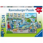 2 Puzzles - Police