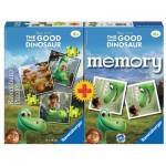 Ravensburger-21194 3 Jigsaw Puzzles +Memory - The Good Dinosaur