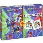 Ravensburger-21300 3 Jigsaw Puzzles + Memory - PJ Masks