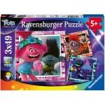3 Puzzles - DreamWorks - Trolls World Tour