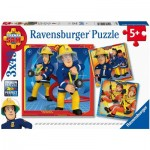 3 Puzzles - Fireman Sam