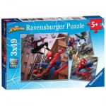 3 Puzzles - Spider-Man