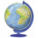 3D Jigsaw Puzzle - World Map in Spanish