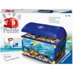 3D Puzzle - Treasure Chest - Underwater World