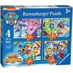 4 Jigsaw Puzzles - Paw Patrol