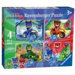 4 Puzzles - PJ Masks