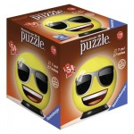 Ravensburger-72060-04 3D Puzzle - Emoji