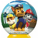 Ravensburger-72078-11917-01 3D Jigsaw Puzzle - Paw Patrol