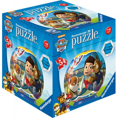 Ravensburger-72078-11917-02 3D Jigsaw Puzzle - Paw Patrol