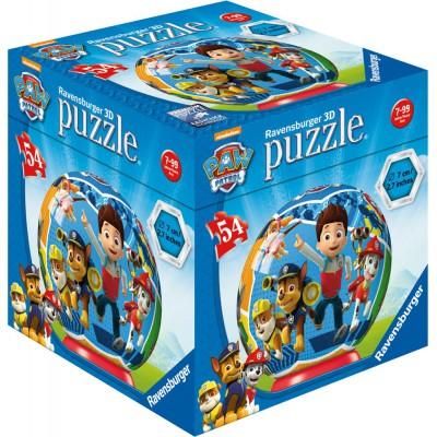 Ravensburger-72078-11917-03 3D Jigsaw Puzzle - Paw Patrol