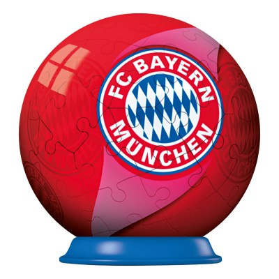 Ravensburger-72738-11857 Puzzle Ball - 54 Pieces - Bayern Munich Football Club