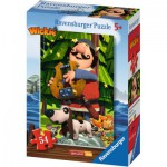 Puzzle  Ravensburger-73296-09467-04 Wickie