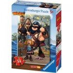 Puzzle  Ravensburger-73296-09467-05 Wickie
