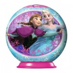 Ravensburger-79467-11913-05 3D Puzzle-Ball - Frozen