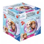 Ravensburger-79467-11913-06 3D Puzzle-Ball - Frozen
