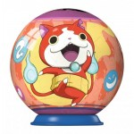 Ravensburger-79936-11922-02 3D Puzzle-Ball - Yo-Kai Watch