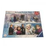 Bumper Pack 4 Puzzles - Frozen