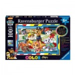 Puzzle   Color Star Line - Paw Patrol
