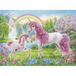Puzzle   Coloring Booklet - Magical Unicorns