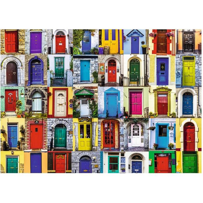 Doors Puzzle 1000 pieces